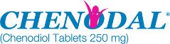 Chenodal tablets prescription logo